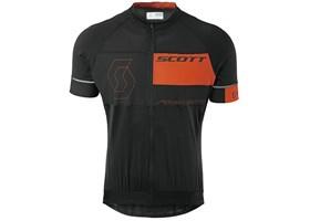 scott-dres-rc-premium-10-kratki-rukavi-black-tangerine-orange-2015