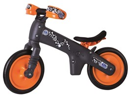 bicikl-guralica-bellelli-pvc-black-orange
