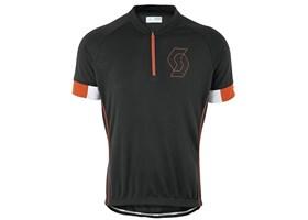scott-dres-endurance-40-kratki-rukavi-black-tangerine-orange-2015
