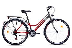 bicikl-capriolo-sunrise-lady-tour-28-crveno-grafit